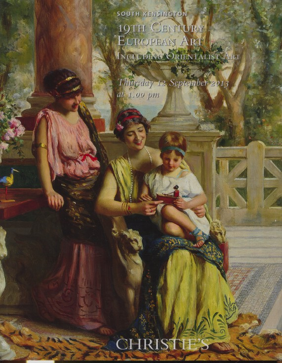 Christies September 2013 19th Century European Art including Orientalist Art