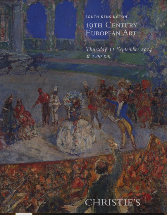 Christies September 2014 19th Century European Art