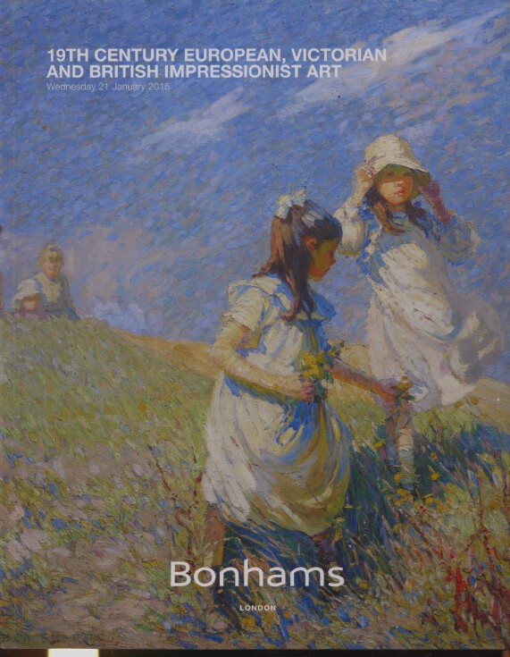 Bonhams January 2015 19th Century European, Victorian, British Impressionist Art
