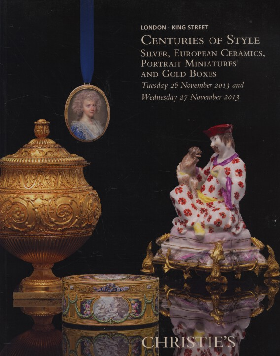 Christies November 2013 Centuries of Style Portrait Miniatures Silver Gold Boxes