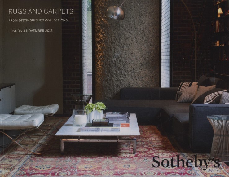 Sothebys November 2015 Rugs & Carpets from Distinguished Collections
