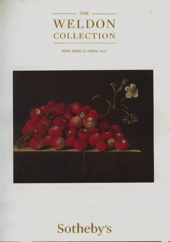 Sothebys April 2015 The Weldon Collection