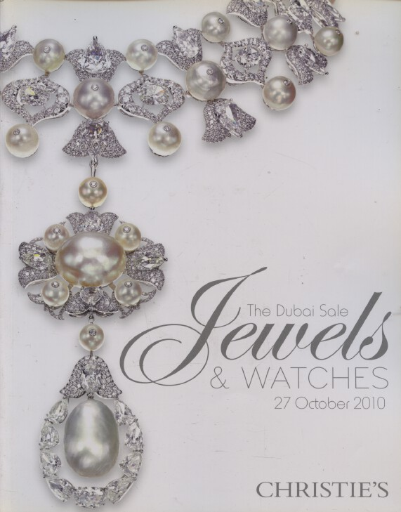 Christies October 2010 Jewels & Watches - The Dubai Sale