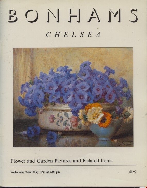 Bonhams May 1991 Flower & Garden Pictures