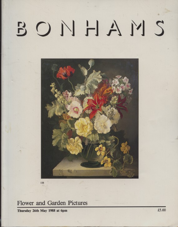 Bonhams May 1988 Flower & Garden Pictures