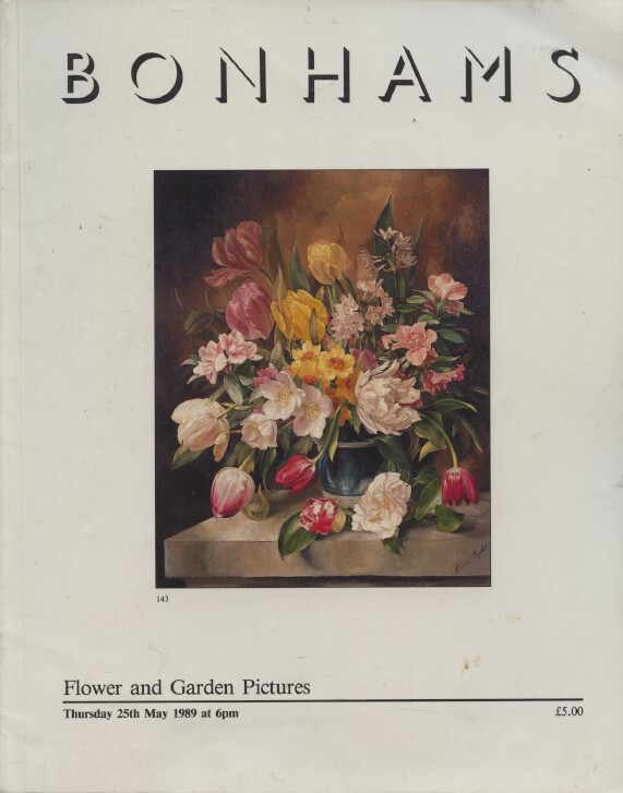 Bonhams May 1989 Flower & Garden Pictures