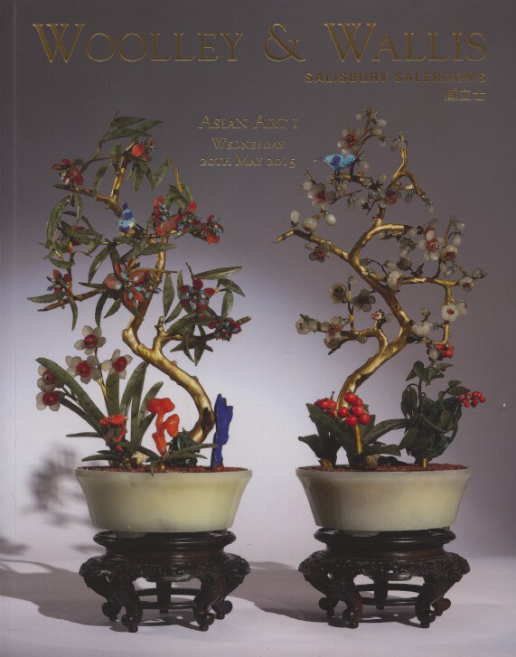 Woolley & Wallis May 2015 Asian Art I