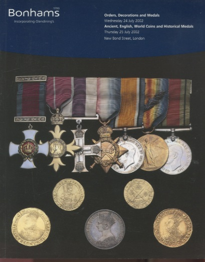 Bonhams 2002 Orders, Decorations & Medals, English & World Coins