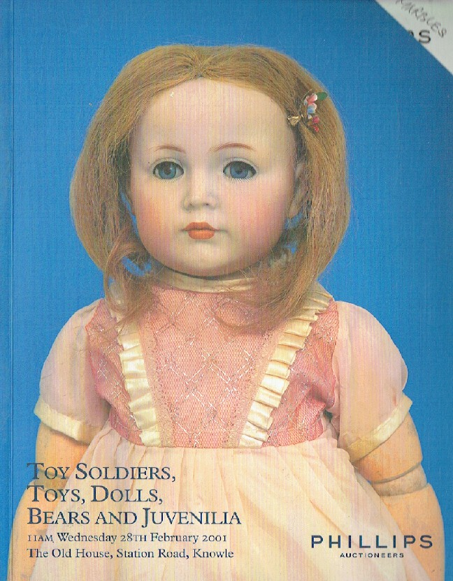 Phillips February 2001 Toy Soldiers, Toys, Dolls, Bears and Juvenilia