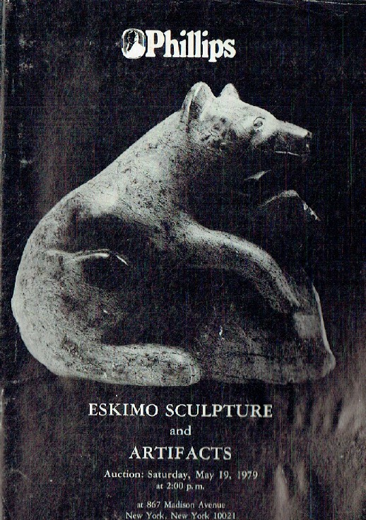 Phillips May 1979 Eskimo Sculpture & Artifacts