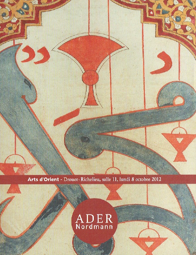 Ader Nordmann October 2012 Oriental Art