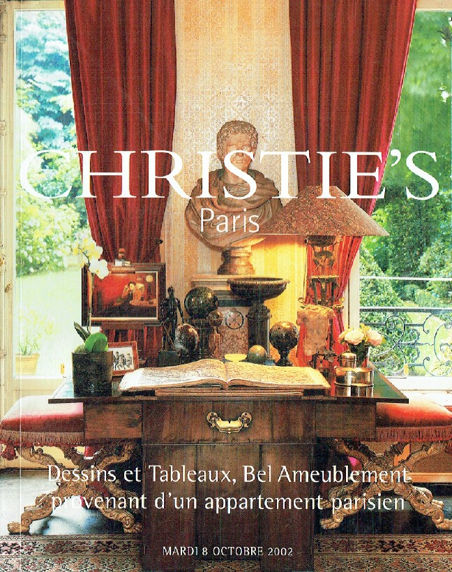 Christies October 2002 (French) Furniture & Paintings and Drawings