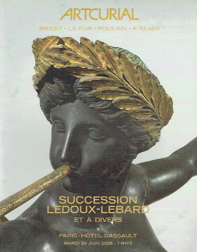 Artcurial June 2006 Old Master & 19 Century Paintings Collection of Succession L