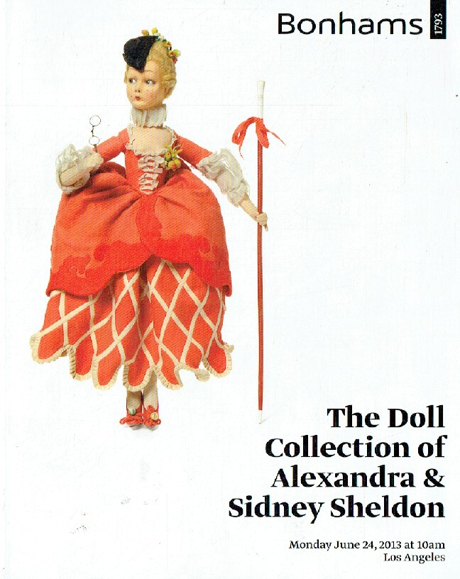 Bonhams June 2013 Doll Collection of Alexandra & Sidney Sheldon