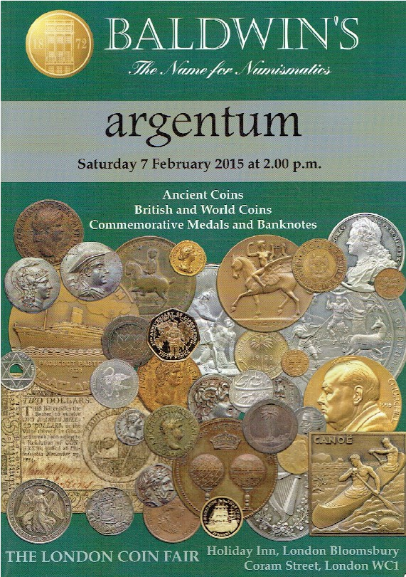 Baldwins February 2015 Ancient, British & World Coins & Commemorative Medals