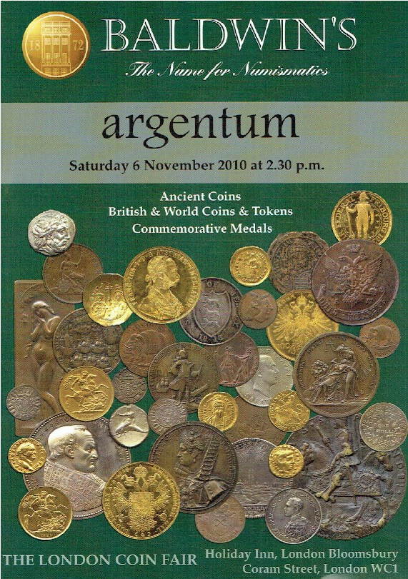 Baldwins Ancient, British & World Coins & Tokens and Commemorative Medals