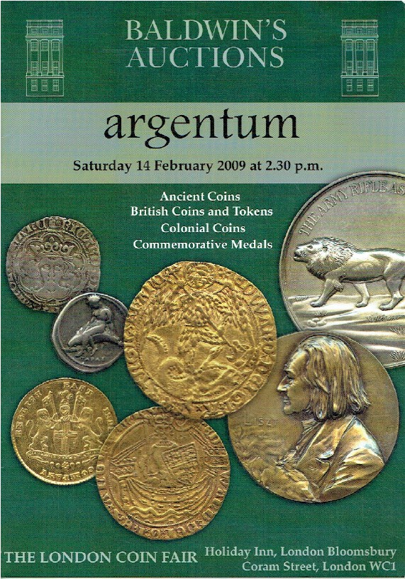 Baldwins February 2009 Ancient, British Coins & Tokens & Commemorative Medals