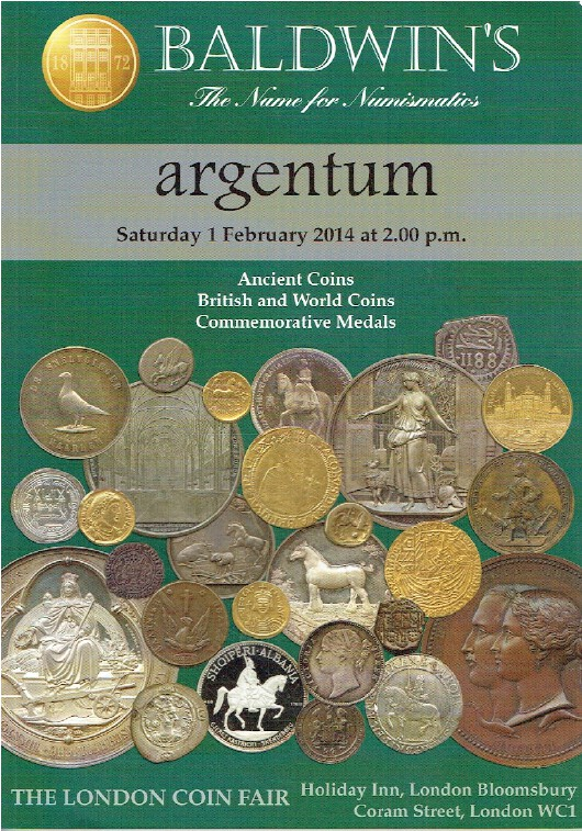Baldwins February 2014 Ancient, British & World Coins & Commemorative Medals