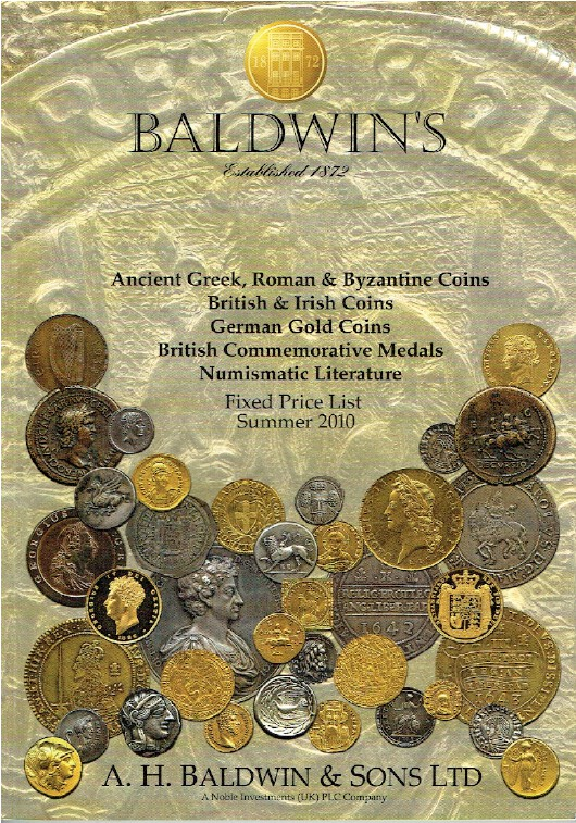 Baldwins Summer 2010 Fixed Price List - Ancient Greek & Byzantine Coins & Medals