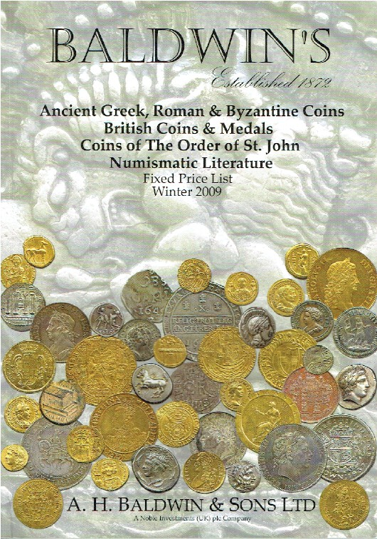 Baldwins Winter 2009 Fixed Price List - Ancient Greek & Byzantine Coins & Medals