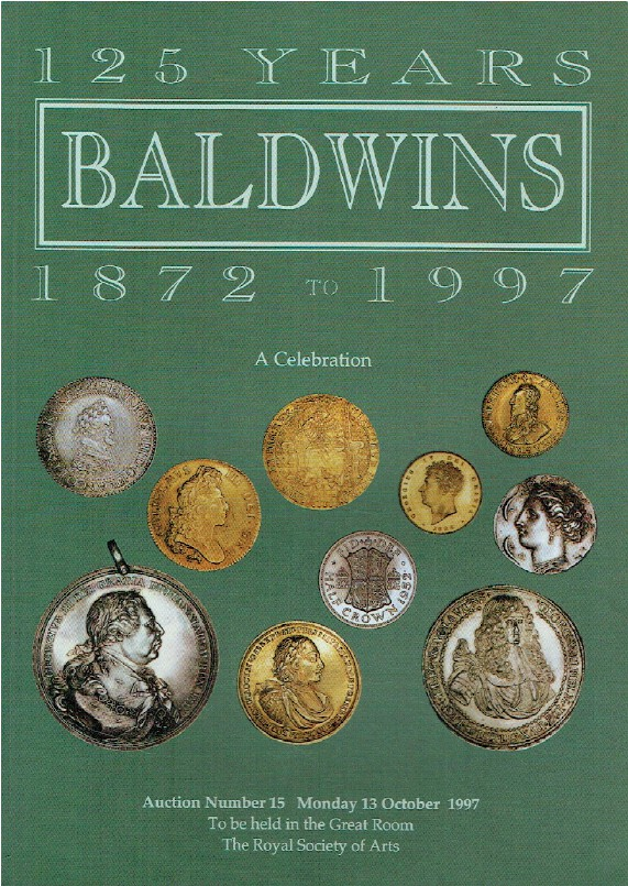 Baldwins October 1997 125 Years - Medals - 1872 to 1997