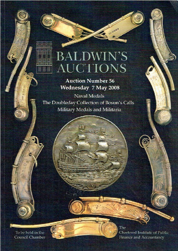 Baldwins May 2008 Naval Medals of Doubleday Collection & Militaria