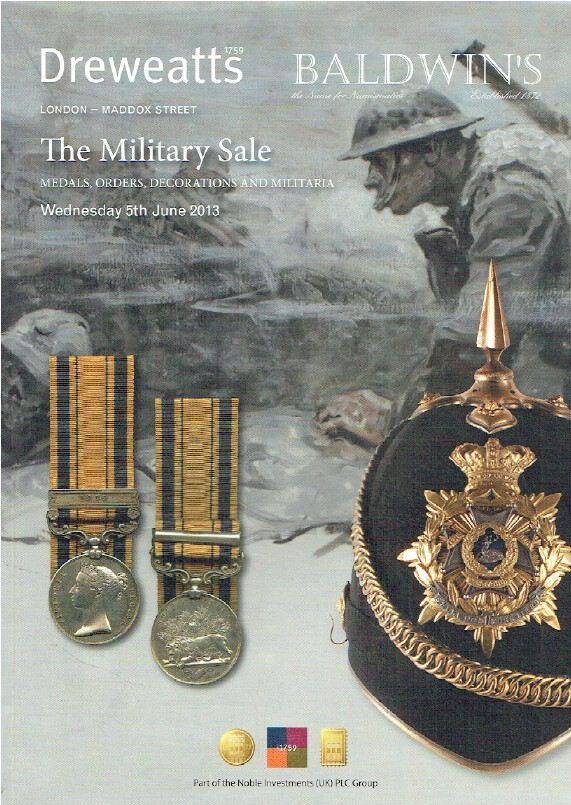 Baldwins June 2013 Military Sale - Medals, Orders, Decorations & Militaria