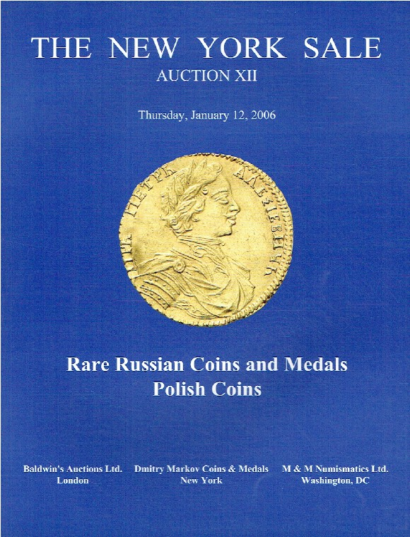 Baldwins January 2006 The New York Sale - Rare Russian Coins & Medals