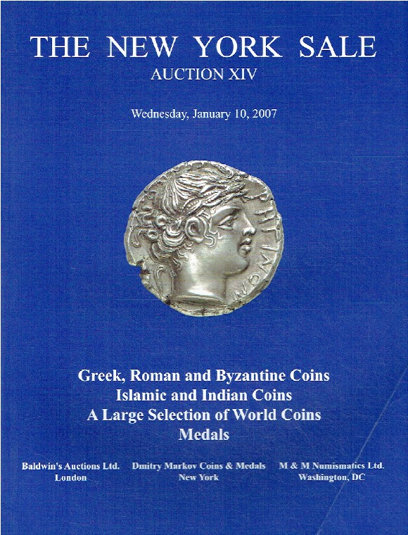Baldwins January 2007 The New York Sale - Greek, Indian & World Coins & Medals