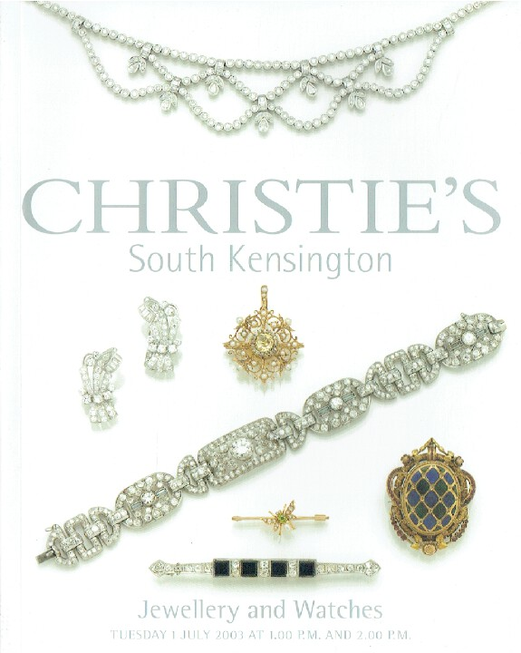 Christies July 2003 Jewellery & Watches