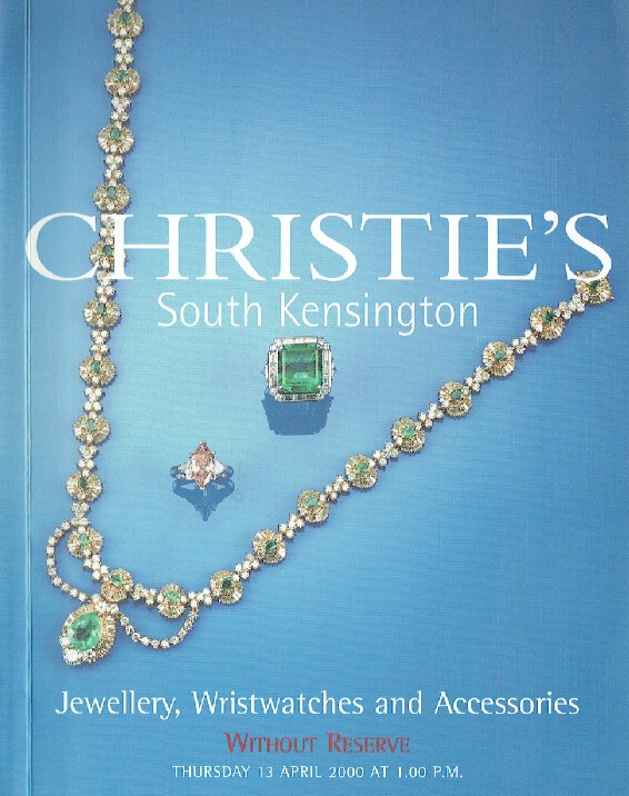 Christies April 2000 Jewellery, Wristwatches & Accessories