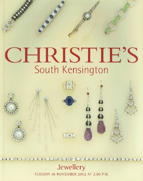 Christies November 2002 Jewellery