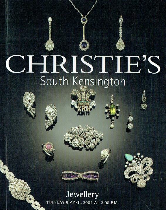 Christies April 2002 Jewellery