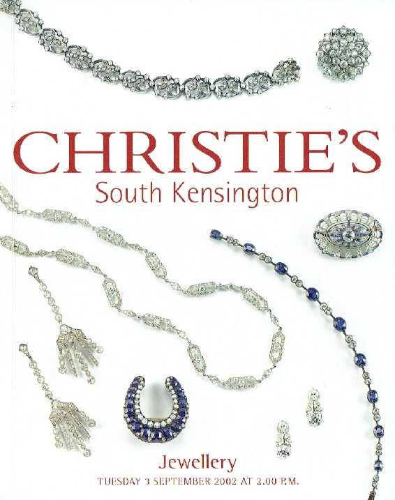 Christies September 2002 Jewellery