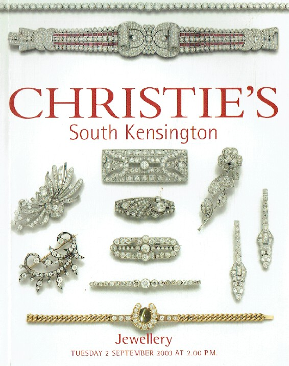 Christies September 2003 Jewellery