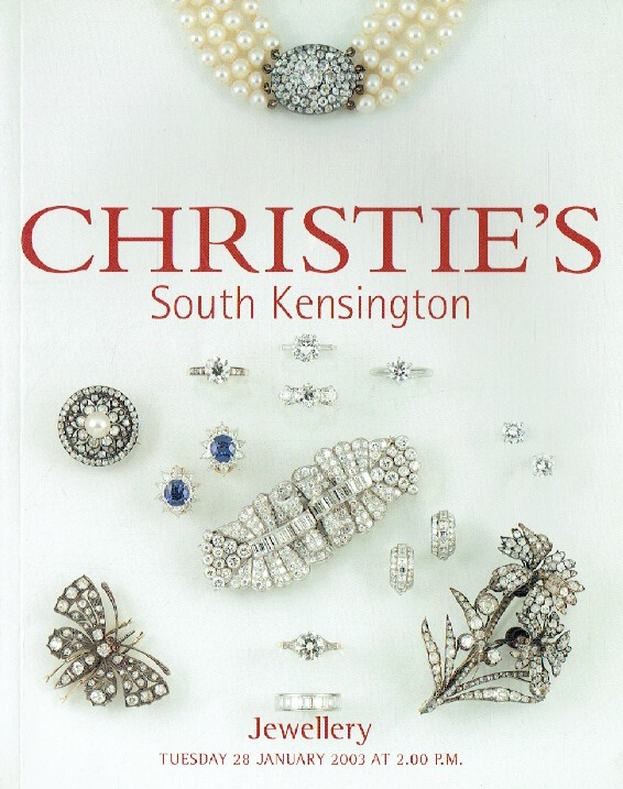 Christies January 2003 Jewellery
