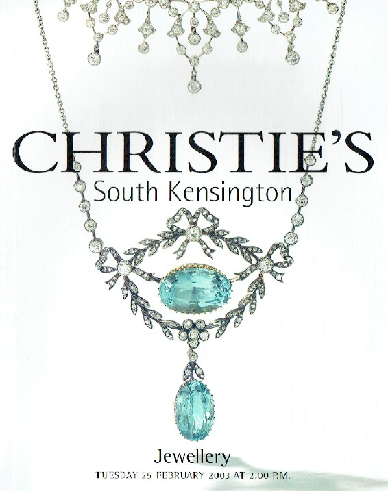 Christies February 2003 Jewellery