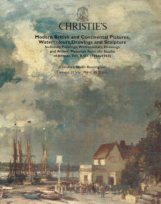 Christies July 1996 Modern British & Continental Paintings, Watercolours etc.