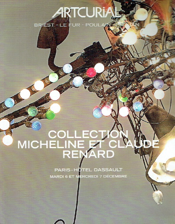 Artcurial December 2005 Design - Micheline and Claude Renard Collection
