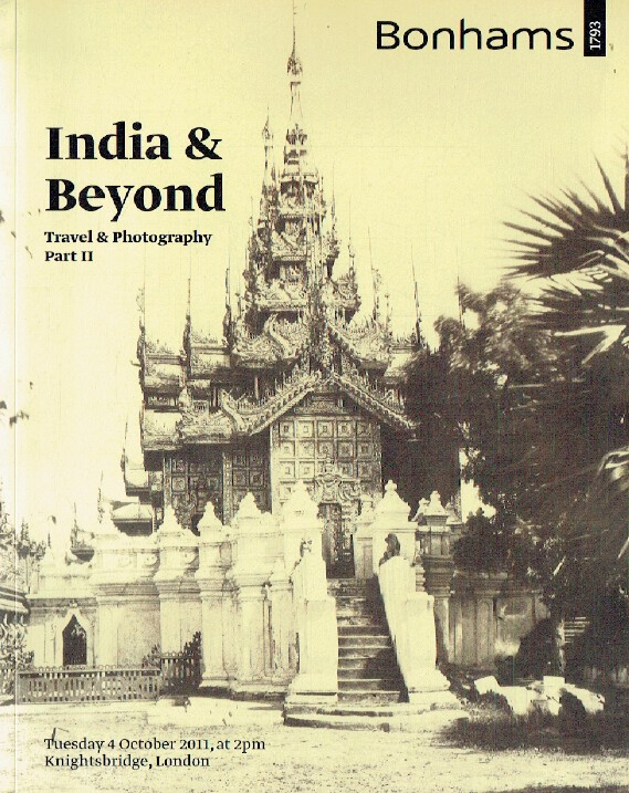 Bonhams October 2011 India & Beyond - Travel & Photography Part-II