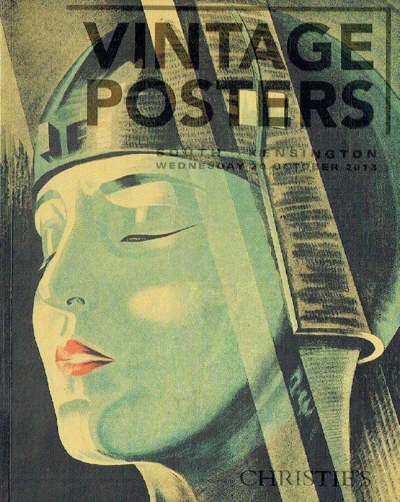 Christies October 2013 Vintage Posters