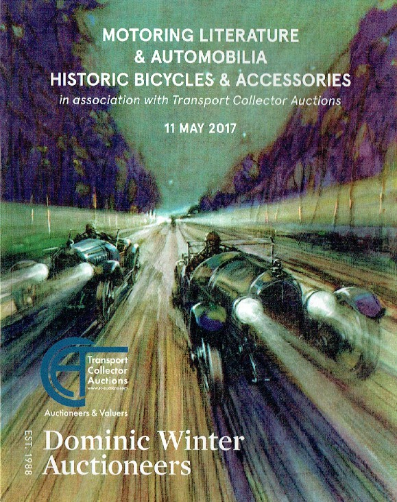 Dominic Winter 2017 Motoring Literature & Automobilia Historic Bicycles etc.