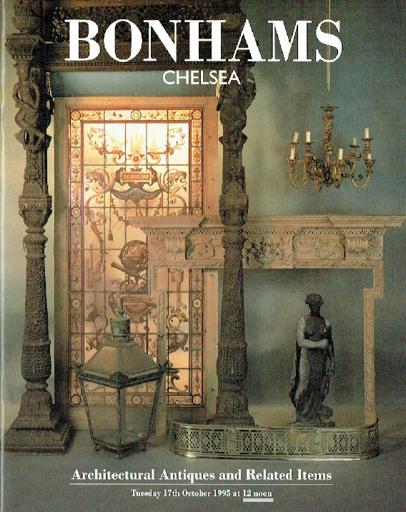 Bonhams October 1995 Architectural Antiques & Related Items