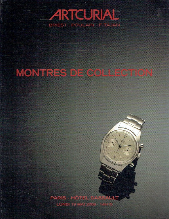 Artcurial May 2008 Collector's Watches