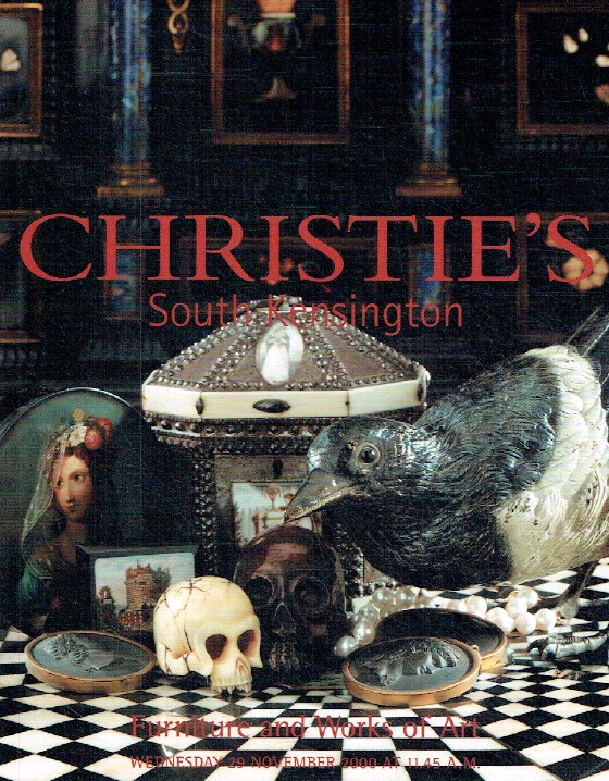Christies November 2000 Furniture & Works of Art inc. Souvenirs of Grand Tour