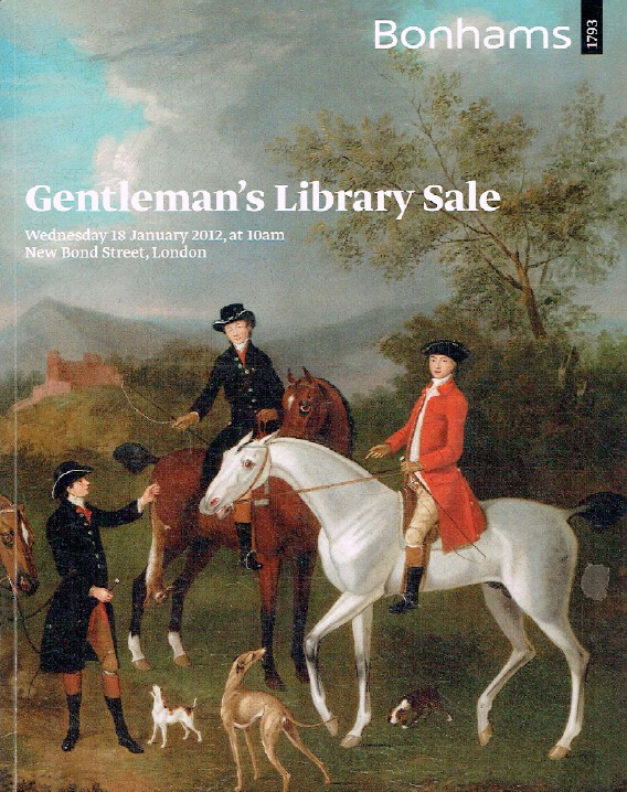 Bomhams January 2012 The Gentleman's Library Sale