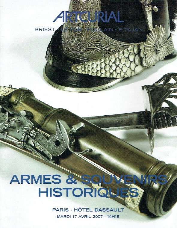 Artcurial April 2007 Arms & Historic Souvenirs