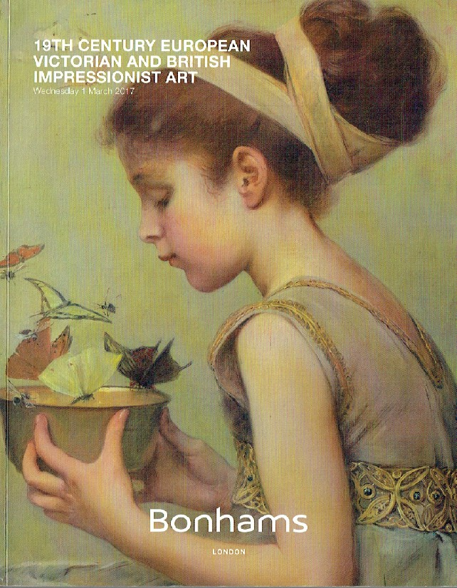 Bonhams March 2017 19th Century European,Victorian & British Impressionist Art