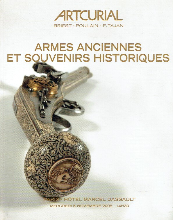 Artcurial November 2008 Antique Arms & Historic Souvenirs