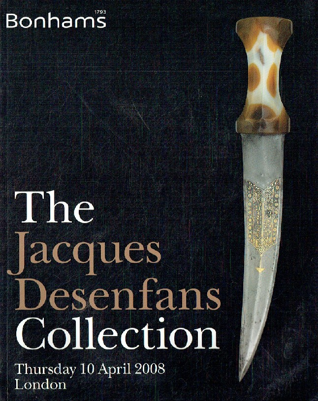 Bonhams April 2008 The Jacques Desenfans Collection